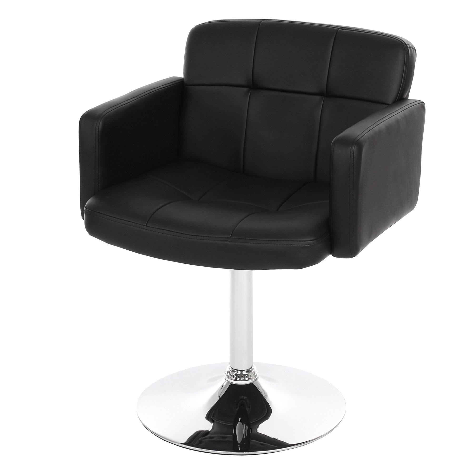 Sedia ORLANDO in pelle nera - Sedia per Salotto o Cucina ORLANDO, In ...