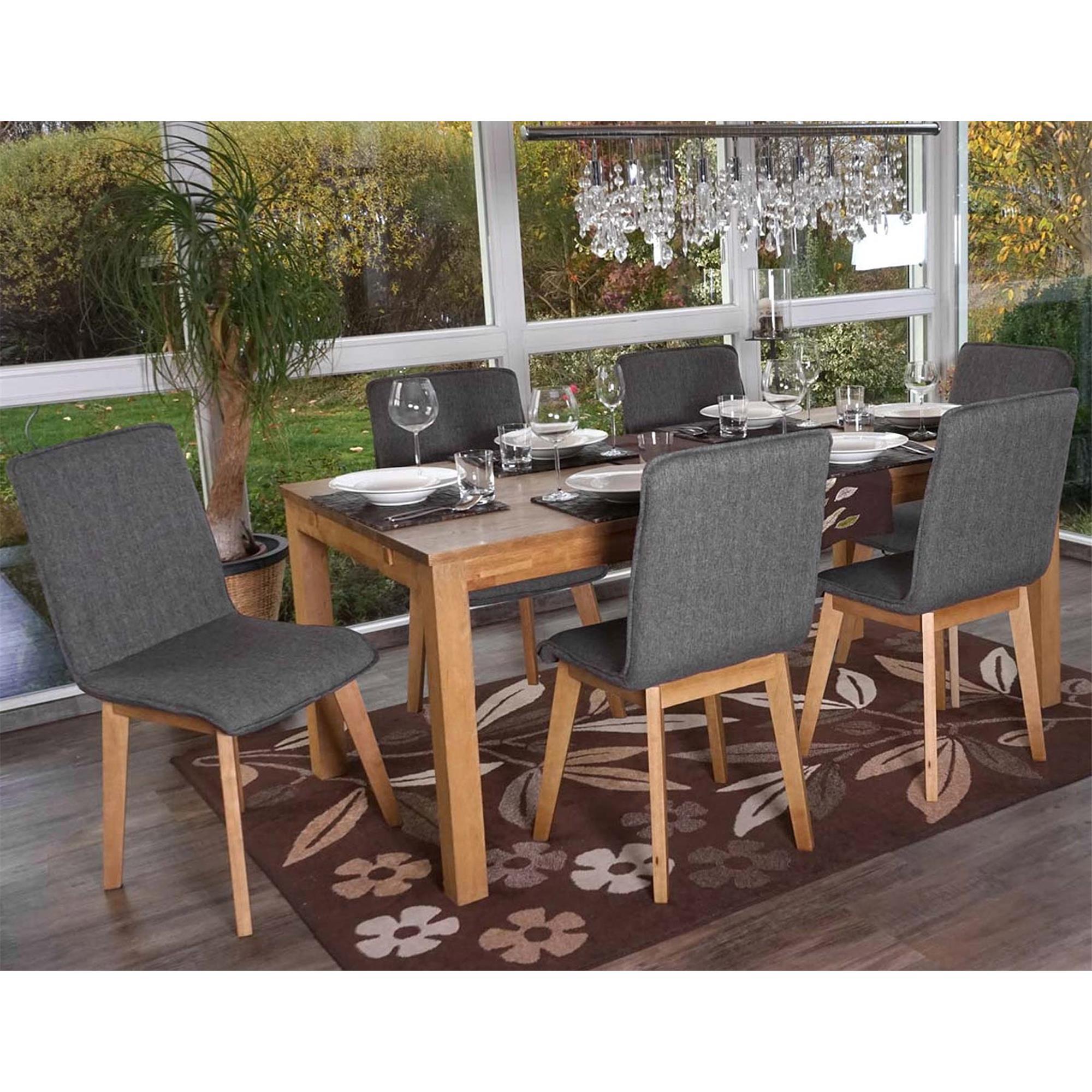 Lotto 6 sedie ford in grigio for Sedie moderne grigie