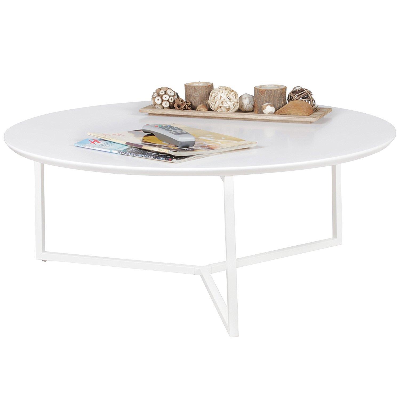 Tavolino da salotto bilbao stile minimal in metallo for Salotto bianco