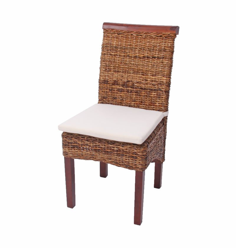 Lotto da 6 Sedie sedie per sala da pranzo M45 in vimini ...