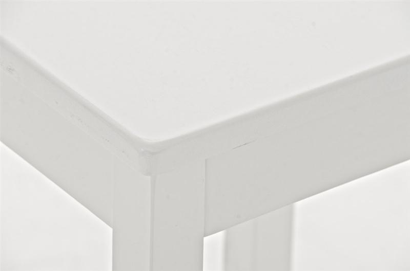 Sgabello vegas bianco elegante sgabello da bar o cucina vegas