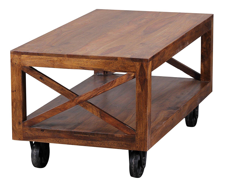 Tavolini Da Salotto In Legno Massiccio : Tavolino da salotto elisabeth cm in legno massiccio