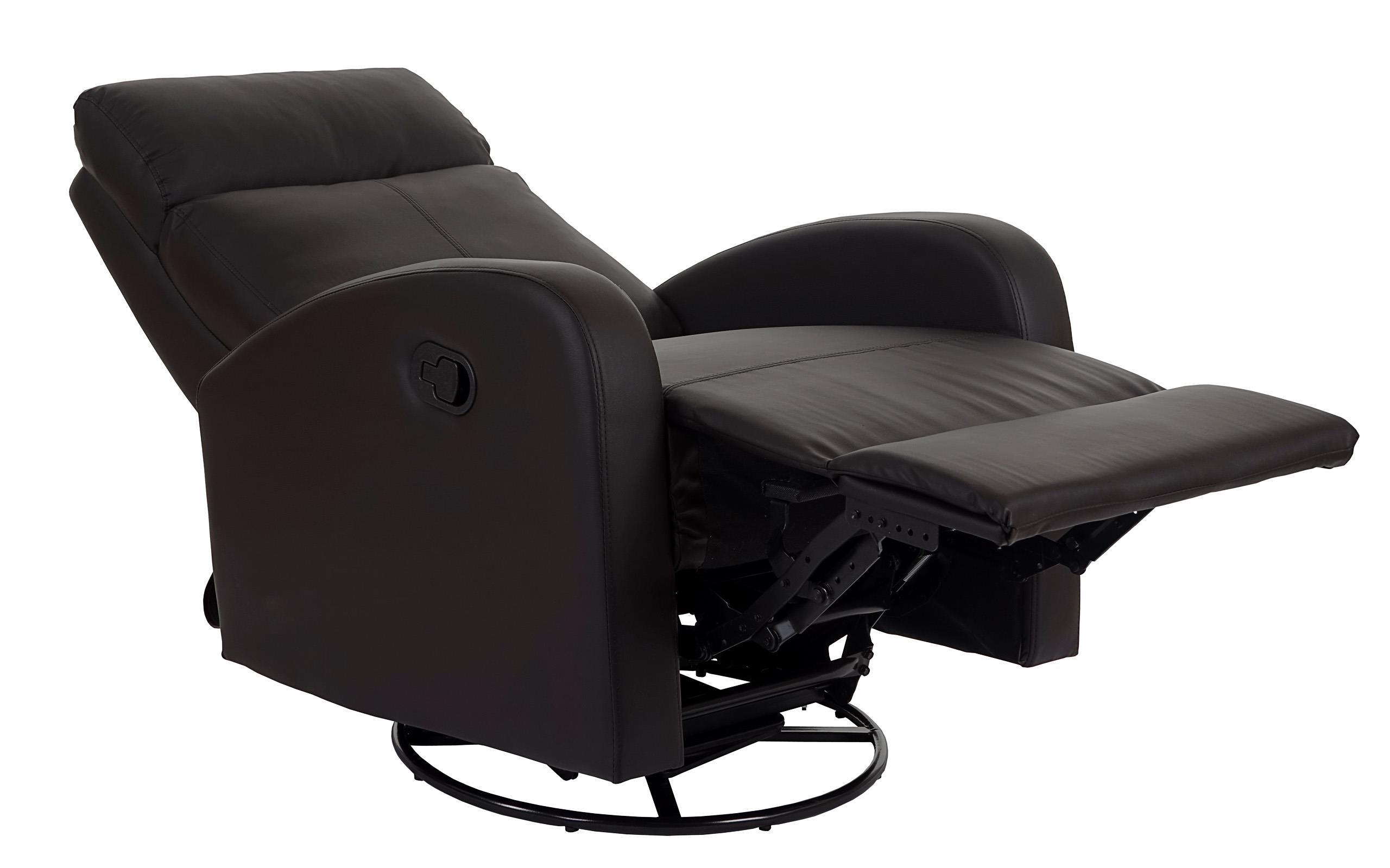 Poltrona relax reclinabile e oscillante kartia premium con