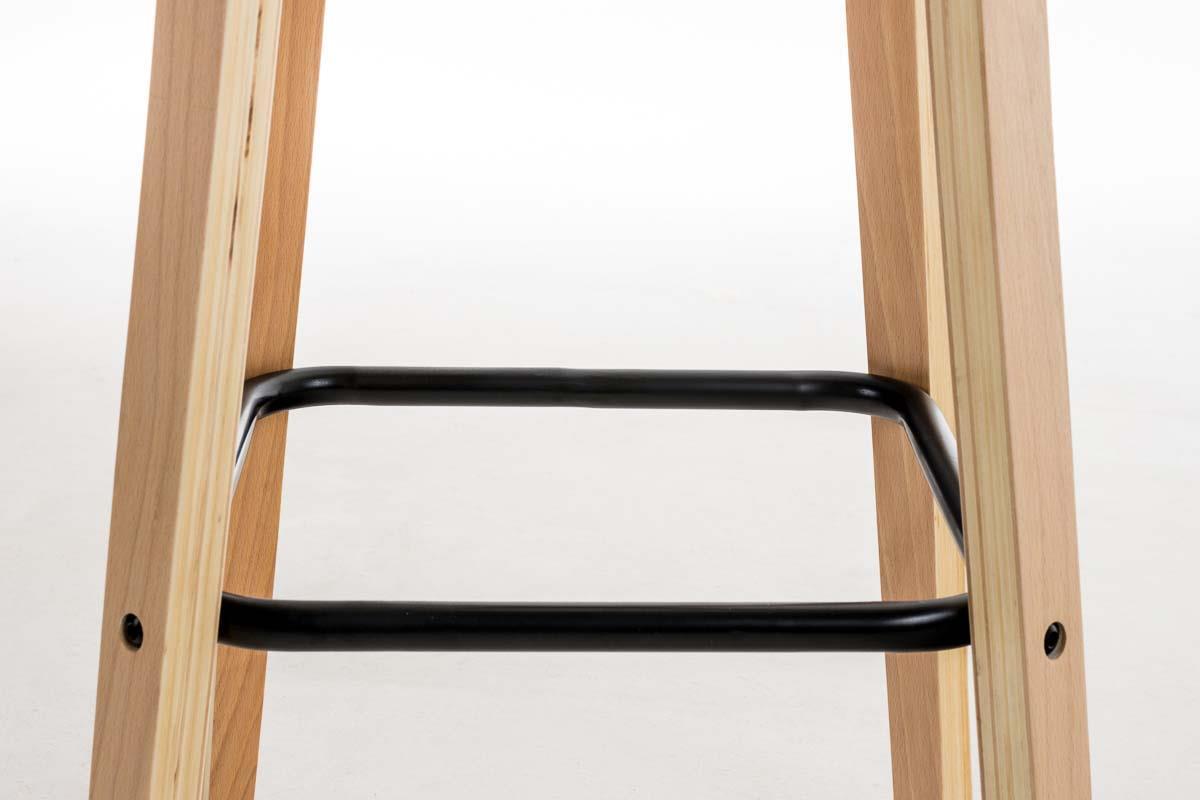 Sgabello da bar o cucina morris design accattivante in legno