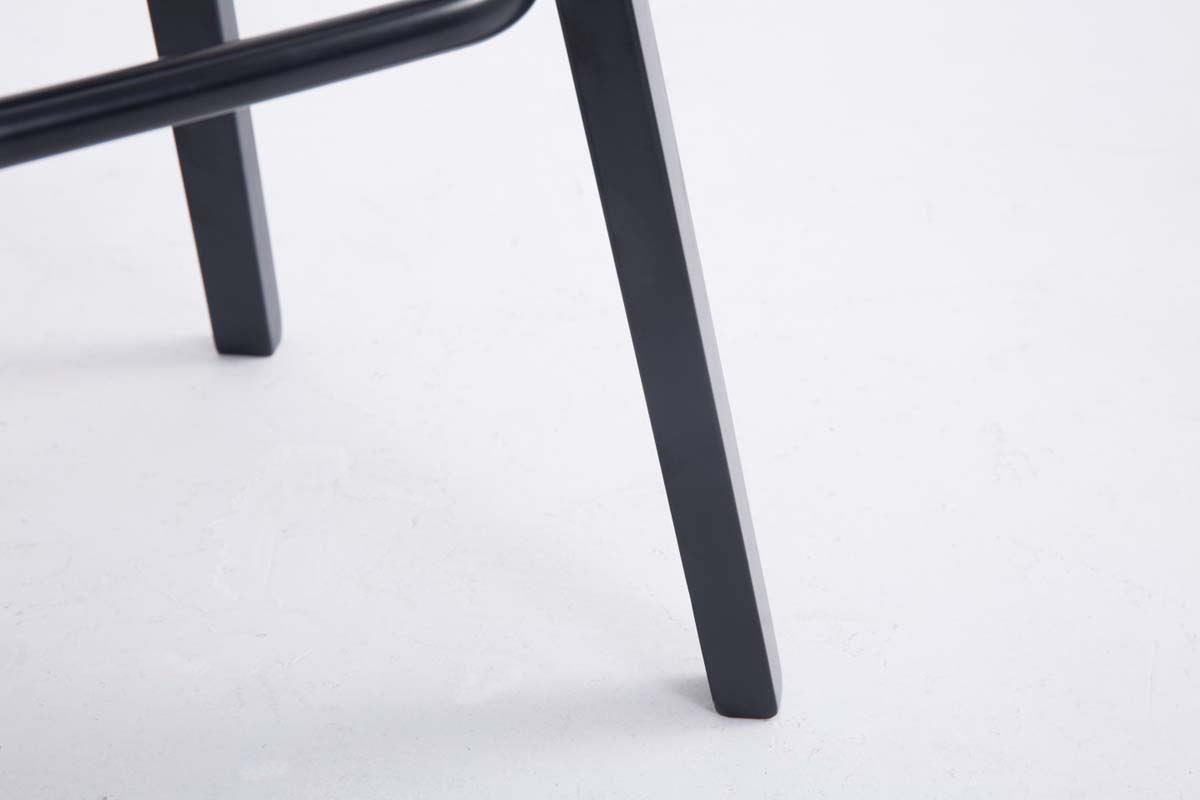 Sgabello da bar roxio tela design scandinavo in tessuto grigio