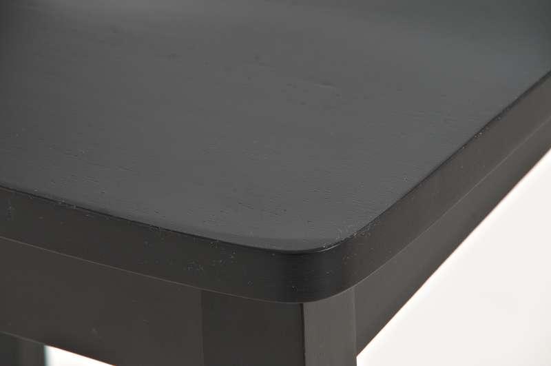 Sgabello da bar o cucina miranda in nero elegante sgabello miranda